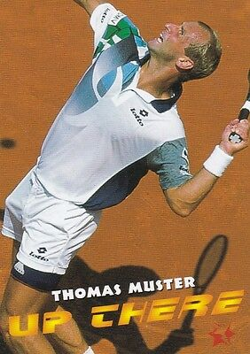 1997 Intrepid Tennis Trading Card #5 Thomas Muster Austria