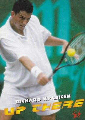 1997 Intrepid Tennis Trading Card #6 Richard Krajicek Netherlands