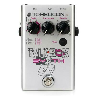 NEW! TC Helicon Guitar Talkbox Synth Pedal