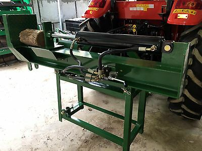 3-Point Log Splitter, 22 Ton Ram, Vertical or Horizontal, Remote Hydraulic Type