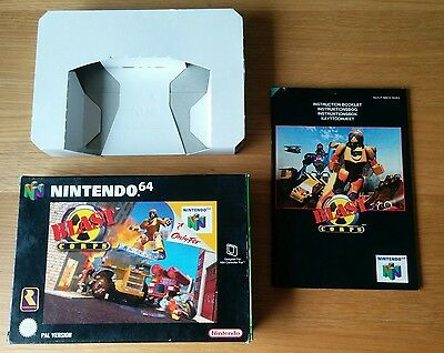 N64 Box and Manual Only - Blast Corps
