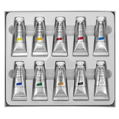 Winsor & Newton : Designer Gouache Paint : Introductory Set : 10x14ml