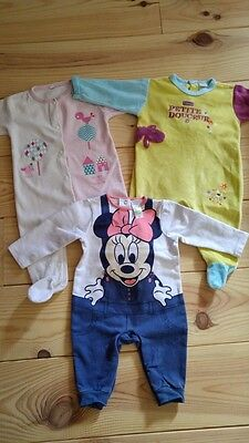 Lot 3 Pyjamas 6 Mois Fille