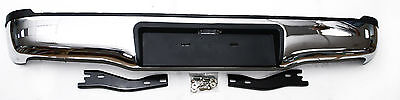 Rear Stainless Steel Bumper With Brackets For Toyota Hilux Mk7 2.5TD/3.0TD *NEW*