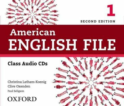 American English File: Level 1: Class Audio CDs 9780194775618 (CD-Audio, 2013)