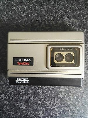 Halina Teledisc 328 Vintage Camera Untested
