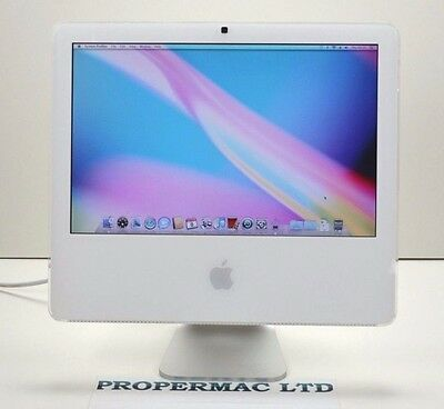 "Apple iMac 17"" OSX 10.6 Snow Leopard  Wi-Fi 4.1 1.83GHZ 500HDD 2GB RAM (12)"
