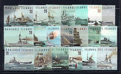 Marshall Islands 1997 Warships x 20 MNH stamps WS4897