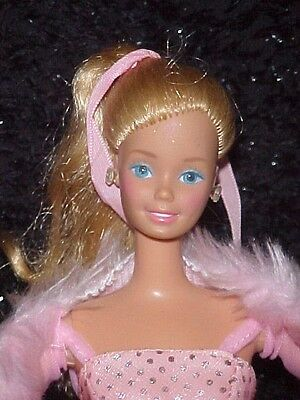 1981 PINK N PRETTY BARBIE with OUTFIT & SHOES loose minty