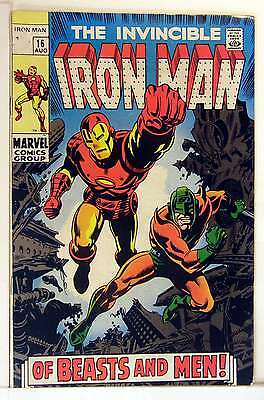 Iron Man (Vol 1) #  16 Very Good (VG) Price VARIANT RS003 Marvel Comics SILVER A