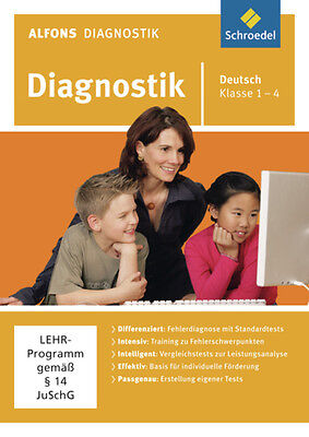 Alfons Diagnostikprogramme. Deutsch 1 - 4. CD-ROM