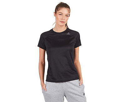 Adidas Women's D2M Loose Tee - Black