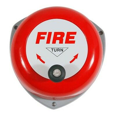 Rotary Hand Fire Safety Bell Manual Alarm Emergency *fast Free Shipping*