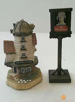 David Winter Cottages THE WHEATSHEAF Dinner Party Collection Boxed + COA
