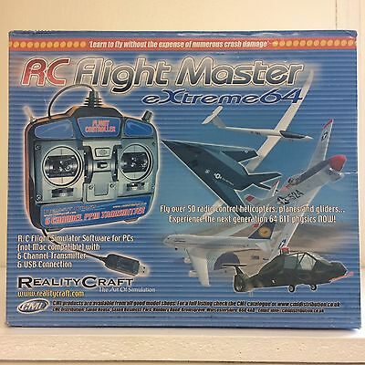 Rc Flightmaster - Extreme64 -  Flight Simulator -  Mode 2 - ***brand New***