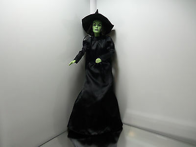2008 Wizard Of Oz Wicked Witch Barbie Doll - 50th Ann. / Sound Edition - Mint