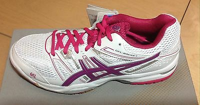 Asics Gel-Rocket 7 Women's Badminton / Squash lndoor Court Shoes Brand New