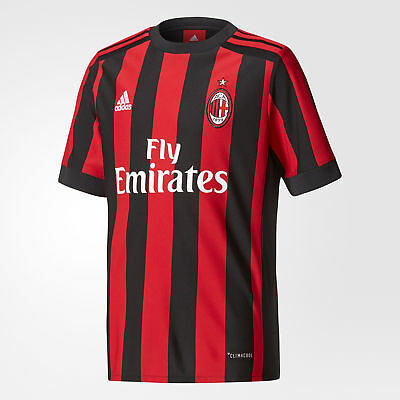 AC Milan Home Shirt 2017-18 - Kids