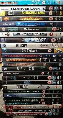 25 x dvd bundle action comedy horror