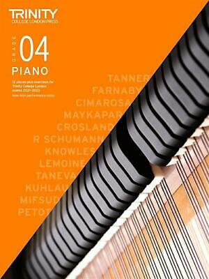 Trinity Piano 2018-2020 Grade 4  Book Only Pieces & Exercises Learn Music Exam