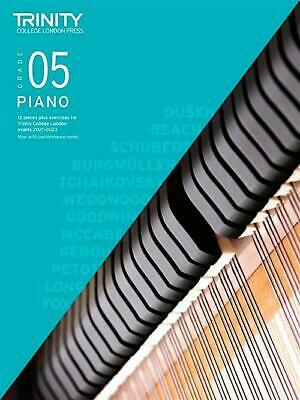 Trinity Piano 2018-2020 Grade 5 Book Only Pieces & Exercises Learn Exam Music