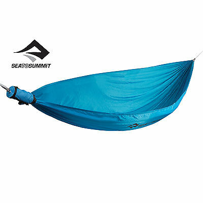 Sea to Summit PRO SINGLE HAMMOCK Blue, Green or Red - Strong, Light & Compact