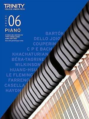 Trinity Piano 2018-2020 Grade 6  Book Only Pieces & Exercises Music Learn Exam