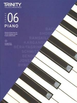 Trinity Piano 2018-2020 Grade 6 Book + CD Pieces & Exercises Music Exam Learn