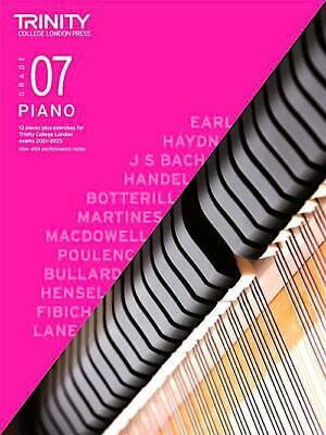 Trinity Piano 2018-2020 Grade 7 Book Only Pieces & Exercises Music Learn Play