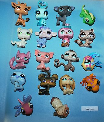 PETSHOP - Lot de 18 figurines - Littlest Pet Shop -  LPS (ref:770)