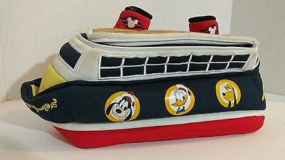 Disney Cruise Line Zippered Lunch Bag Goofy Donald And Pluto