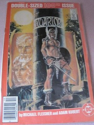 WARLORD DC Comic Double Sized 100th Issue No 100 Dec 1985 NM