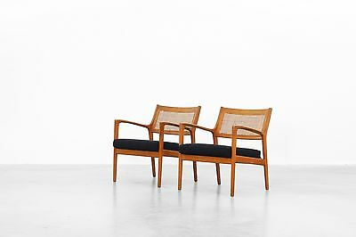 Lounge Chairs by Karl Erik Ekselius for JOC Möbler danishdesign Mitcentury