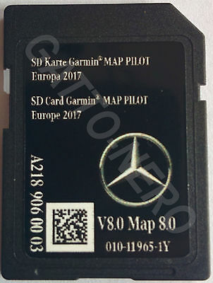NEWEST Mercedes Benz SD Card Garmin Map Pilot V8 2017/8 Latest  A2189060003