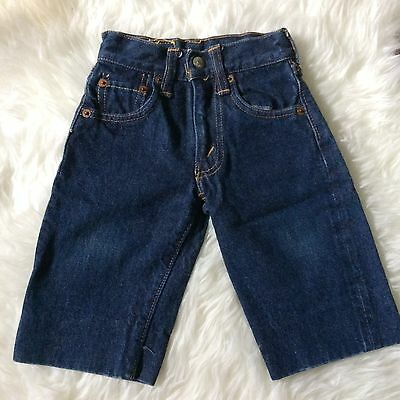 LEVIS Big E Vtg 60's Kids Jeans 302-0117 Sz 19 x 14 Made in USA