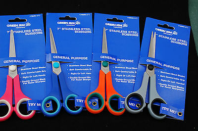 Stainless Steel Pointed Scissors 7 inch 178mm Small Craft Scissors Multi Handed