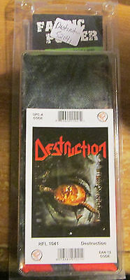 Destruction Texile Poster Flag Rare New Never Opened