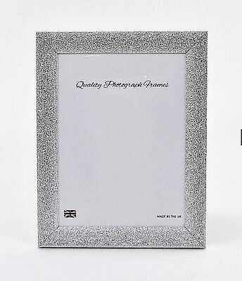 SILVER 'STARDUST' Photo/Picture Frame - Various sizes