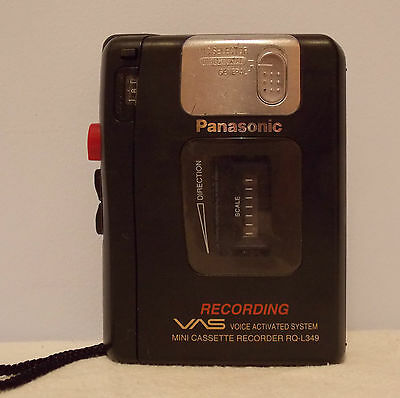 Panasonic Cassette Tape Recorder Player RQ-L349 VAS Free P&P UK