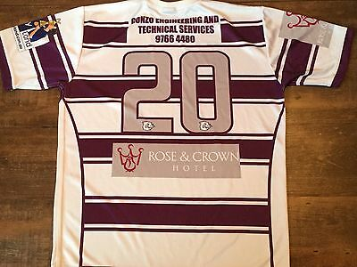 2008 Cumberland Beavers Rugby League Shirt Adults XL Jersey NSW Tertiary Student