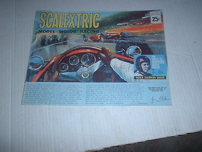 VINTAGE CANADIAN SCALEXTRIC CATALOGUE No7 1966 VERY GOOD CONDITION