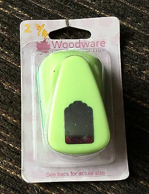 Woodware 1 inch Craft Punch Merchandise Tag Punch