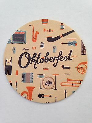 Beau's All Natural Brewing Company (Oktoberfest 2015) Beer Coaster