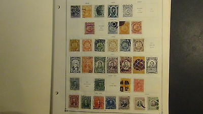 Bolivia stamp collection on Scott Int'l pages to '75
