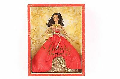 2014 Happy Holiday Barbie Doll African American BDH14 NO