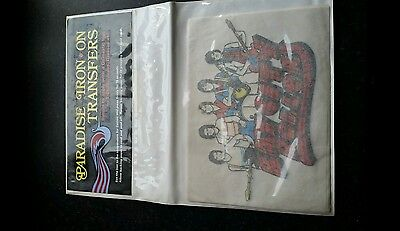 25 Vintage/retro Bay City Rollers Iron On T-Shirt Transfer Prints Old Stock