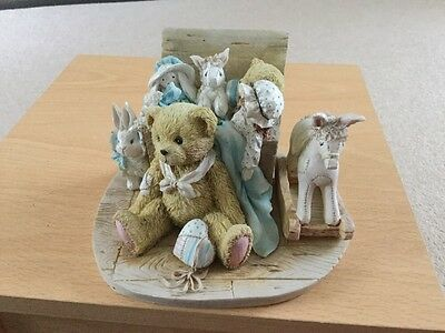 """Cherished Teddies 950483 CHRISTOPHER """"old Friends Are The Best Friends"""""""