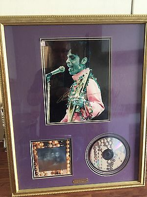 Prince 100% Original Signed The Artist Autograph From Pride Records