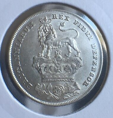 Great Britain: George IV Shilling 1826 UNC