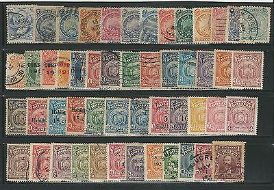 "Bolivia: Small lot of 50 diff. stmaps used interesting lot ""As is"".  BO12"